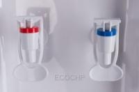 Кулер Ecotronic V21-L white-silver